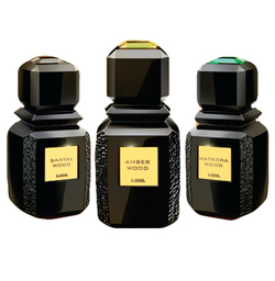 Ajmal W Series Amber Wood, Hatkora Wood, Santal Wood (2014) {New Fragrances}
