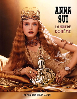 Anna Sui La Nuit de Bohème is Oud Dream of Turkish Palaces & Moroccan Markets (2014) {New Perfume}
