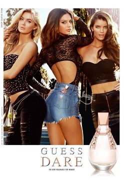 Guess Dare (2014) {New Fragrance} {Perfume Images & Ads}