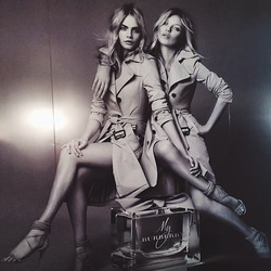 Burberry My Burberry - Fronted by Cara Delevingne & Kate Moss (2014) {New Perfume} {Celebrity Fragrance}