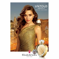 Elizabeth Arden Untold Absolu (2014) {New Fragrance} {Perfume Adverts}