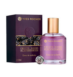 Yves Rocher Fruits Noirs ~ Blackberries (2014) {New Perfume} {Home Fragrance} {New Scented Beauty Products}