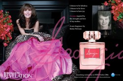 Robin McGraw Georgia is Perfume Created in Support of Fight Against Domestic Violence (2014) {New Perfume} {Celebrity Fragrance}