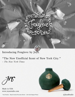 Joya Studio Foxglove Goes After The Universal Scent of New York City (2014) {New Perfume}