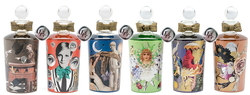 Penhaligon's + Nina Frydlender Creazioni Create 6 Highly Decorated Flacons (2014) {Fragrance News} {New Packaging}