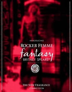 Britney Spears Rocker Femme Fantasy (2014) {New Fragrance} {Celebrity Perfume}