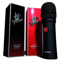 The Voice TV Series in France to Launch Duetto of Perfumes (2014)