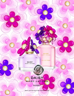 Marc Jacobs Daisy Sorbet Edition & Daisy Eau So Fresh Sorbet Edition (2015) {New Fragrances}