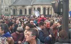 Visual Encounters at Paris Unity March January 11, 2015 {Paris Photo}