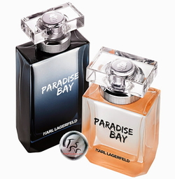 Karl Lagerfeld Paradise Bay for Women & Men (2015) {New Perfumes}