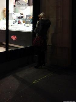 Woman on the Phone {Paris Photo}