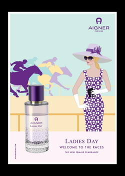 Aigner Ladies Day Taps into Horse Races Glamour (2015) {New Fragrance}