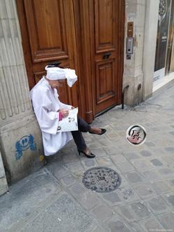 Woman with Turban ~ Femme avec Turban (2015) {Paris Photo}