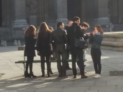 Group of Younger People - Lighting {Paris Photo}