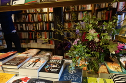 Simply Spring VII - Pied Bouquet & Young Shoots at Shakespeare & Co. {Paris Photo} {Scented Quote of the Day}