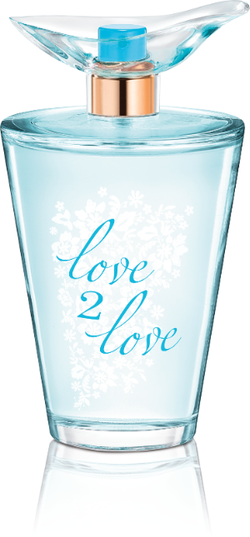 Walmart X Coty Love 2 Love Bluebell + White Tea (2015) {New Fragrance}