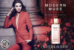 Estée Lauder Modern Muse Le Rouge Features Kendall Jenner in a Tuxedo (2015) {New Fragrance} {Perfume Images & Ads} {Celebrity Fragrance}