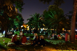 Nocturnal Iftar Picnics in Istanbul {Peregrine Paris Photo}