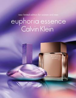 Calvin Klein Euphoria Essence & Essence Men (2015) {New Perfumes} {Perfume Images & Ads}
