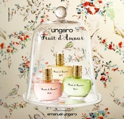 Ungaro Fruit d'Amour Gold, Pink & Green (2015) {New Fragrances}