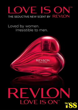 Revlon Love is On Campaign Opens New Chapter with Fragrance (2015) {New Perfume}