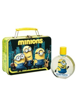 Disney Minions Eau de Toilette in a Lunch Box (2015) {New Perfume}