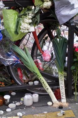 Semiotics of Insult - La sémiotique de l'insulte - 130 Street Photographies after the Paris Attacks {Paris Street Photo}