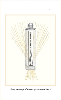 Serge Lutens L'Eau de Paille as an Enduring Short Summer Tale {Perfume Images & Ads}