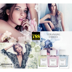 Vera Wang Embrace Periwinkle & Iris, Rose Buds & Vanilla, and Green Tea & Pear Blossom (2015) {New Fragrances}