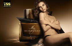 Burberry Unveil their New Perfume Ad Campaign Featuring Lily James in a State of Undress {Perfume Images & Ads} {Celebrity Fragrances}
