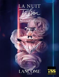 Lancôme La Nuit Trésor Caresse Eau de Parfum (2016) {New Perfume} {Perfume Images & Ads}