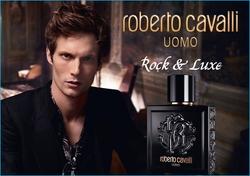 Roberto Cavalli Uomo Wears a Black Violet on his Chic Lapel (2016) {New Fragrance} {Men's Cologne}