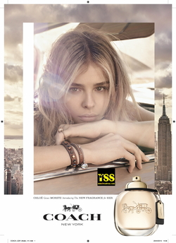 New Coach Eau de Parfum is Fronted by Chloe Moretz (2016/2017) {New Fragrance}{Perfume Images & Ads}