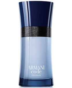 Armani Launches an Urban Eau de Cologne, Code Colonia (2017) {New Perfume} {Men's Cologne}