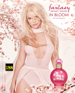 Britney Spears Fantasy in Bloom (2017) {New Perfume} {Celebrity Fragrances} {Fragrance Images & Ads}