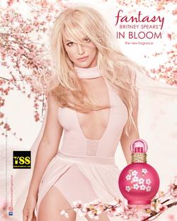 Britney Spears Fantasy in Bloom (2017) {New Perfume} {Celebrity Fragrances} {Fragrance Images & Ads}