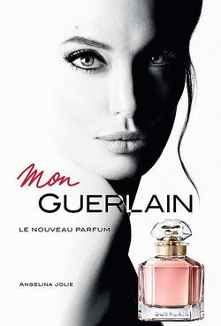 Guerlain Mon Guerlain Gets Insta International Exposure with Angelina Jolie (2017) {New Fragrance}