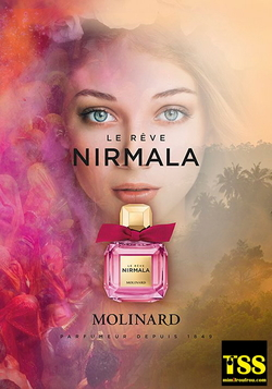 Molinard Nirmala Le Rêve (2017) {New Fragrance}{Perfume Images & Ads}