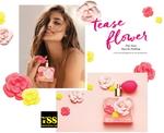 Victoria's Secret Tease Flower (2017) {New Fragrance} {Perfume Images & Ads}