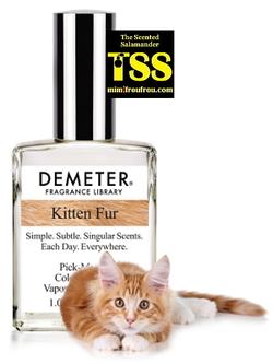 Demeter Kitten Fur (2017) {New Perfume}