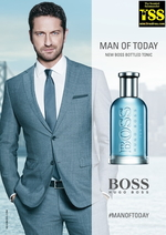 Hugo Boss Boss Bottled Tonic Fronted by Gerard Butler (2017) {New Fragrance} {Men's Cologne} {Celebrity-Endorsed Scent}