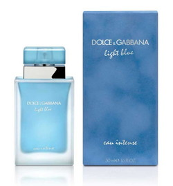 Dolce & Gabbana Light Blue Eau Intense Homme & Femme (2017) {New Fragrances} {Men's Cologne}