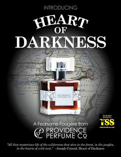 Providence Perfume Co. Heart of Darkness (2017) {New Fragrance} {Green Products} {Men's Cologne}