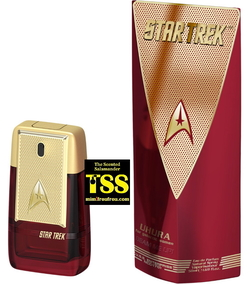 Star Trek Uhura, Spock and Kirk Sent on a Mission to Scent Europe this Summer (2017) {New Fragrances} {Celebrity Perfumes}