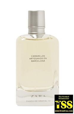 Zara Caramelos Artesanos en Barcelona (2017) {New Fragrance}