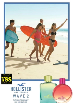 Hollister Wave 2 for Her & Him // The Cali Way of Life (2017) {New Fragrances} {Perfume Images & Ads}