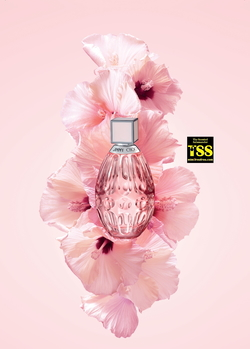Jimmy Choo L'Eau Showcases Hibiscus (2017) {New Fragrance} {Perfume Images & Ads}