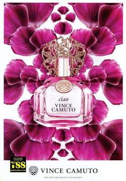 Vince Camuto Ciao (2016) {New Fragrance}