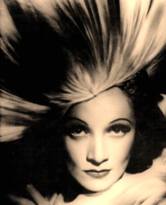 Marlene Dietrich Feather Hat.JPG