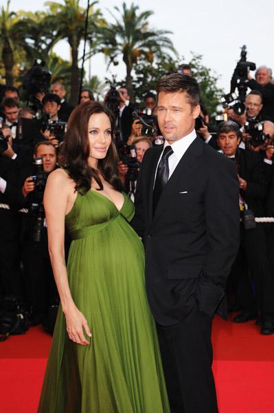 Angelina Jolie Brad Pitt Cannes 2008